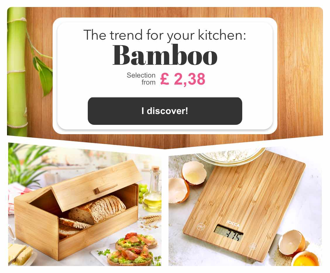 The trend for your kitchen: Bamboo